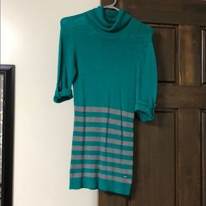 Guess green sweater